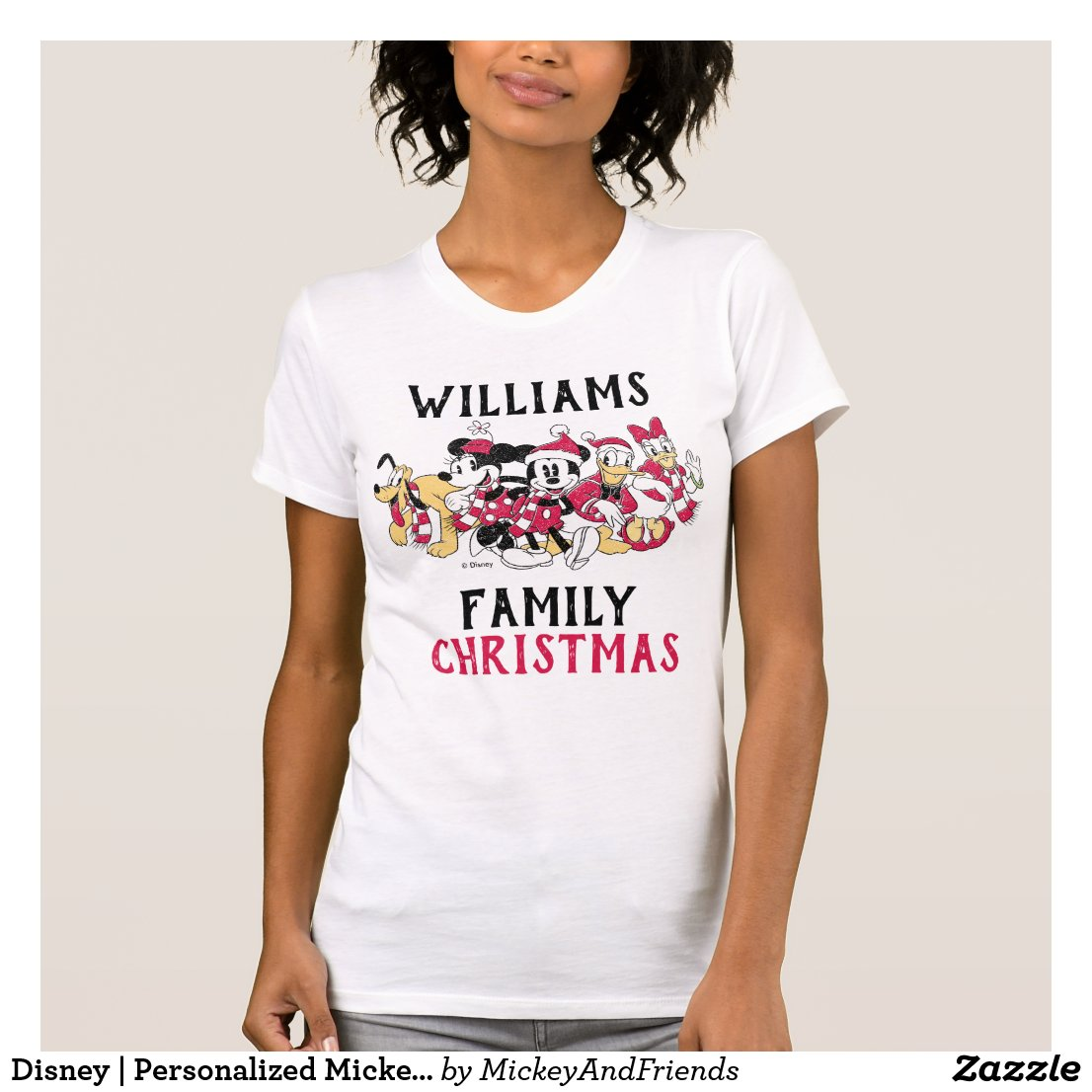 Disney | Personalized Mickey and Friends T-Shirt