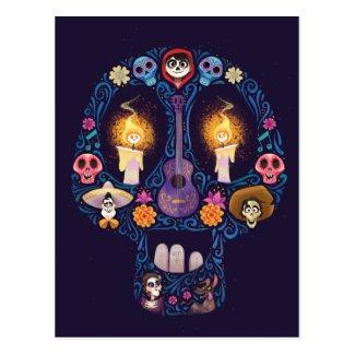 Disney Pixar Coco | Character Sugar Skull Postcard
