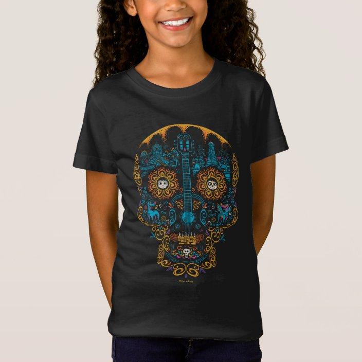 Disney Girls Coco Skull Pattern Sweatshirt
