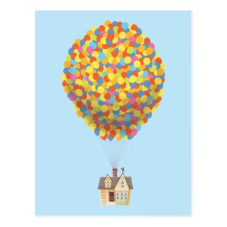 Disney Pixar ENCIMA del pastel de la casa del Postales