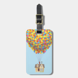 Disney Pixar UP   Balloon House Pastel Bag Tag