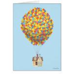 Disney Pixar Up   Balloon House Pastel Card at Zazzle