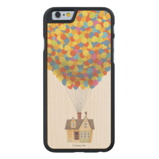 Disney Pixar UP | Balloon House Pastel Carved Maple iPhone 6 Slim Case