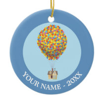 Disney Pixar UP | Balloon House Pastel Ceramic Ornament