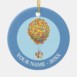 Disney Pixar UP | Balloon House Pastel Ceramic Ornament