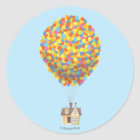 Disney Pixar UP | Balloon House Pastel Classic Round Sticker