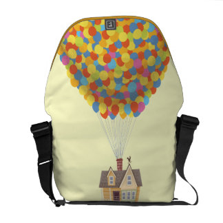 Disney Pixar UP | Balloon House Pastel Messenger Bag