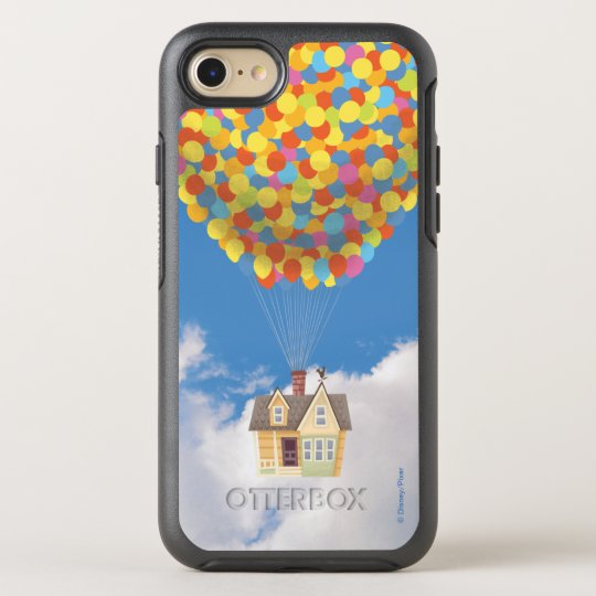 brand new 3e1a8 c265f Disney Pixar UP   Balloon House Pastel OtterBox iPhone Case
