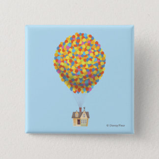 Disney Pixar UP | Balloon House Pastel Pinback Button