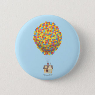 Disney Pixar UP | Balloon House Pastel Pinback Button