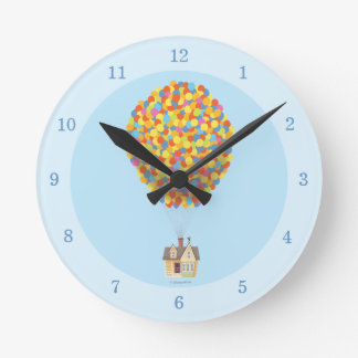 Disney Pixar UP | Balloon House Pastel Round Clock