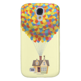 Disney Pixar UP | Balloon House Pastel Samsung Galaxy S4 Cover