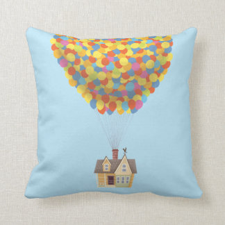 Disney Pixar UP | Balloon House Pastel Throw Pillow