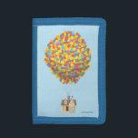 "Disney Pixar UP   Balloon House Pastel Tri-fold Wallet<br><div class=""desc"">Disney   Up</div>"