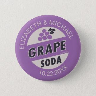 Disney Pixar Up Wedding | Grape Soda Button