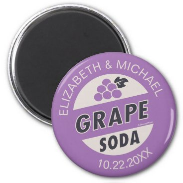 Disney Themed Disney Pixar Up Wedding   Grape Soda Magnet