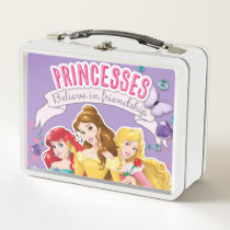 Disney Princess | Ariel, Belle and Aurora Metal Lunch Box