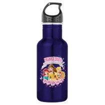 Disney Princess | Ariel, Belle and Aurora Stainless Steel Water Bottle