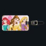 "Disney Princess | Ariel, Belle and Rapunzel Luggage Tag<br><div class=""desc"">Princess</div>"