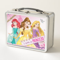 Disney Princess | Ariel, Belle and Rapunzel Metal Lunch Box