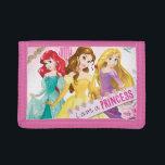 """Disney Princess   Ariel, Belle and Rapunzel Tri-fold Wallet<br><div class=""""desc"""">Princess</div>"""