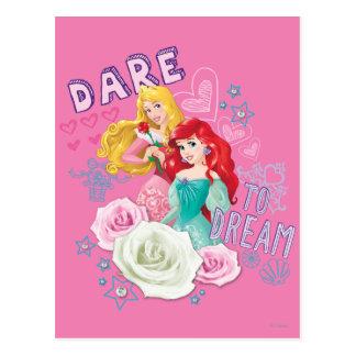 Disney Princess | Aurora and Ariel Postcard