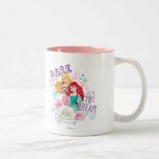 Disney Princess | Aurora and Ariel Two-Tone Coffee Mug