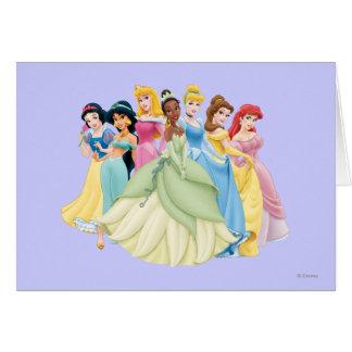 Disney Princess | Aurora, Tiana, Cinderella Center Card
