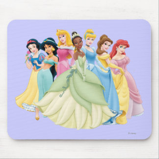 Disney Princess | Aurora, Tiana, Cinderella Center Mouse Pad
