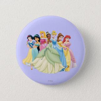 Disney Princess | Aurora, Tiana, Cinderella Center Pinback Button