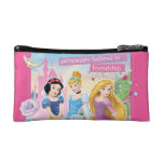 Disney Princess | Believe in Friendship Makeup Bag at Zazzle