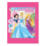 Disney Princess   Believe in Friendship Postcard