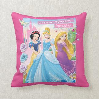 Disney Princess | Believe in Friendship Throw Pillow
