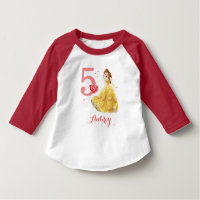 Disney Princess | Belle Birthday T-Shirt