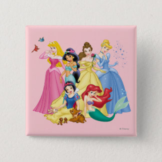 Disney Princess | Birds and Animals Button