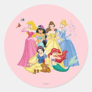Disney Princess | Birds and Animals Classic Round Sticker