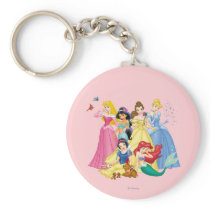Disney Princess | Birds and Animals Keychain