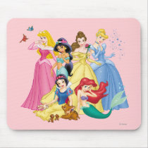 Disney Princess | Birds and Animals Mouse Pad