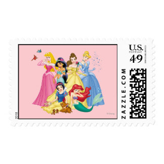 Disney Princess | Birds and Animals Stamp