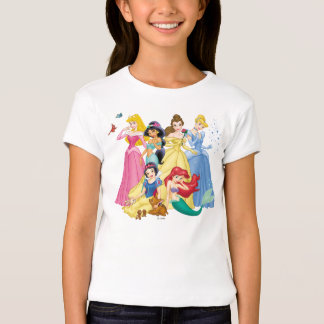 Disney Princess   Birds and Animals T-Shirt