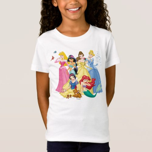 Disney Princess  Birds and Animals T_Shirt