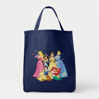 Disney Princess | Birds and Animals Tote Bag
