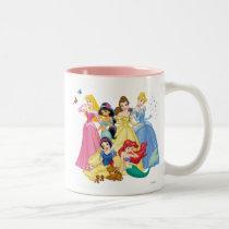 Disney Princess | Birds and Animals Two-Tone Coffee Mug