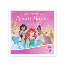 Disney Princess | Birthday Napkin