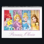 "Disney Princess Calendar<br><div class=""desc"">Customize this Princess calendar with your little girl&#39;s name.</div>"