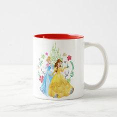 Disney Princess | Christmas Princesses Two-tone Coffee Mug at Zazzle