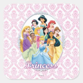 Disney Princess | Cinderella Featured Center Square Sticker
