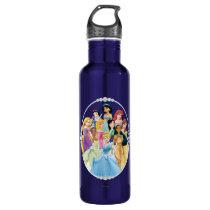 Disney Princess | Cinderella Featured Center Stainless Steel Water Bottle