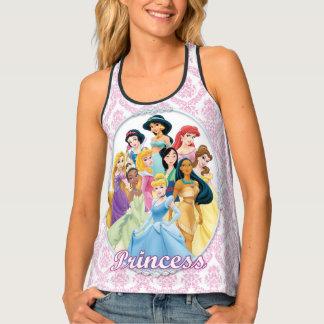 Disney Princess | Cinderella Featured Center Tank Top