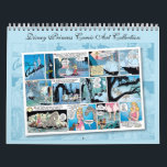 """Disney Princess Comic Art Collection Calendar<br><div class=""""desc"""">This Vintage Disney Comic Art Collection features the story of Cinderella and Sleeping Beauty.</div>"""